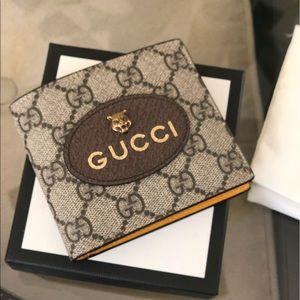 New , Authentic Gucci Men's wallet